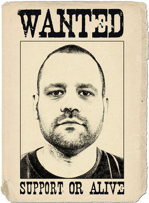 Wanted - Support or Alive - Supportleiter Thomas Janke