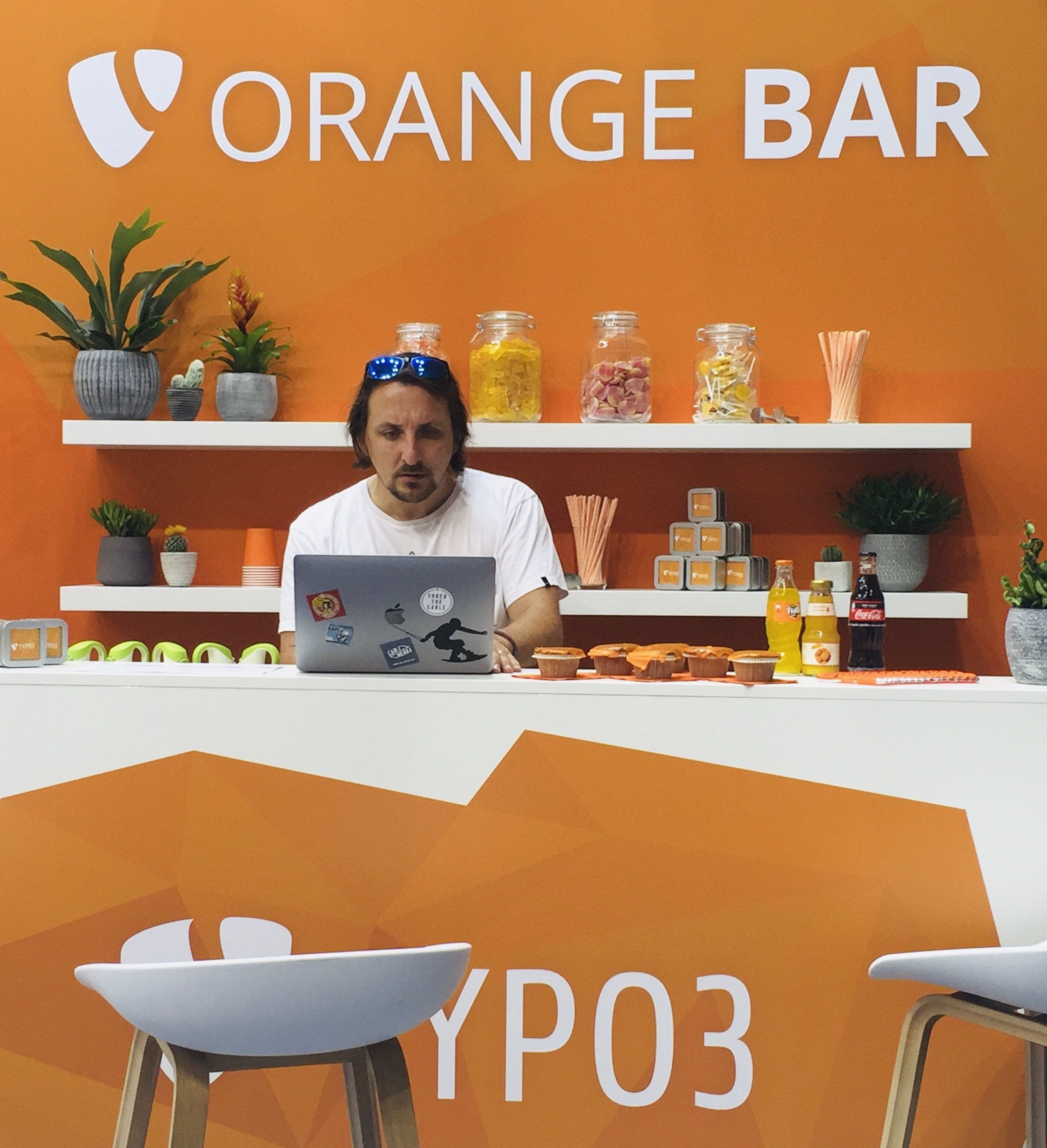 TYPO3 Orange Bar
